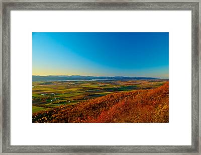 Vermont View Framed Print