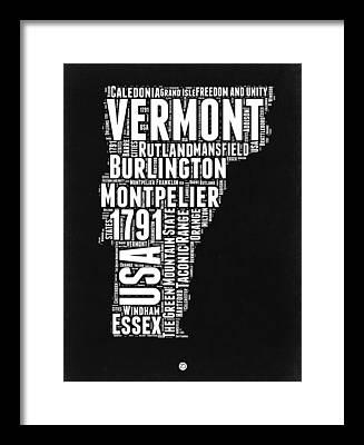 Burlington Vermont Framed Prints