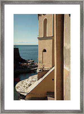 Vernazza 1 Framed Print by Art Ferrier