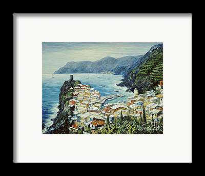 Italy Rooftops Framed Prints