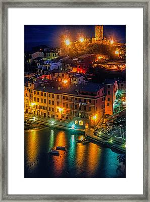 Vernazza Evening Framed Print