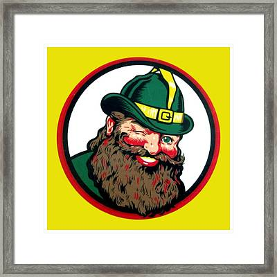 Vernors Ginger Ale - The Vernors Gnome Framed Print