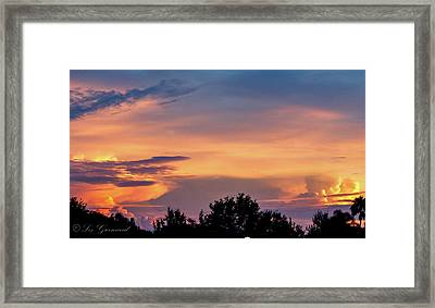 Vero Sunrise Framed Print