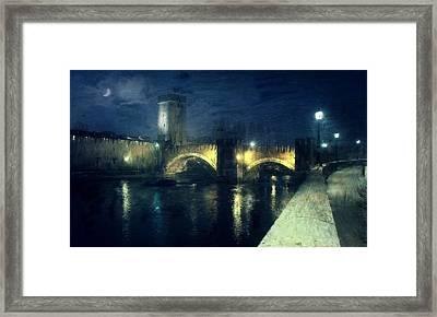 Verona, Castelvecchio Framed Print