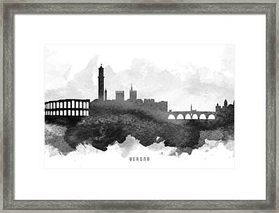 Verona Cityscape 11 Framed Print by Aged Pixel