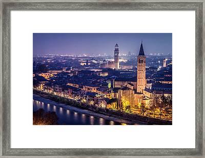 Verona. Framed Print by Pablo Lopez