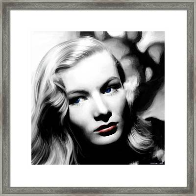 Veronica Lake Portrait #1 Framed Print