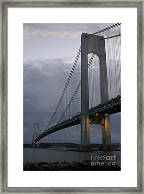 Verrazano Bridge Framed Print