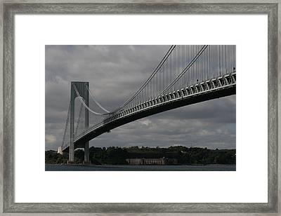 Verrazano Framed Print