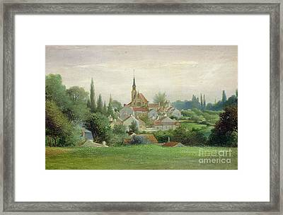 Verriere Le Buisson Framed Print by Eugene Bourrelier