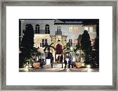 Versace Mansion South Beach Framed Print by Gary Dean Mercer Clark