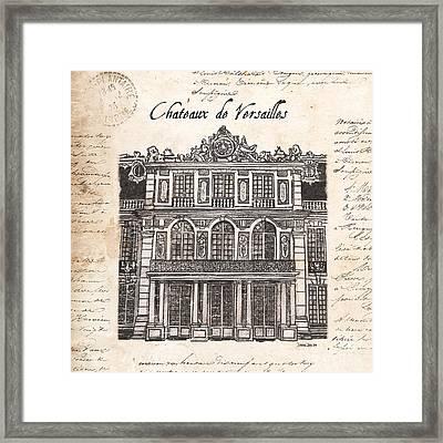 Versailles Framed Print