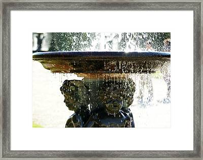 Versailles Fountain Framed Print