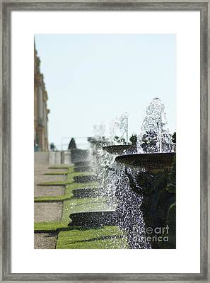 Versailles Fountains Framed Print