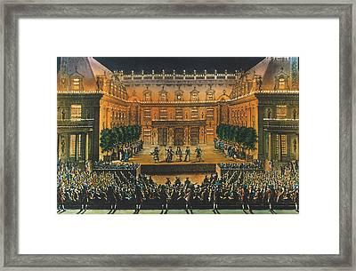 Versailles: Opera, 1676 Framed Print