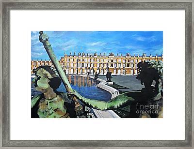 Versailles Palace Framed Print