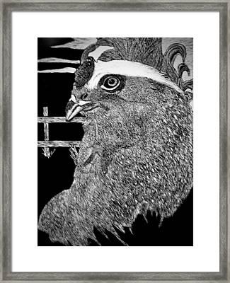 Version 2 Framed Print