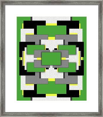 Vert Moderne Framed Print by Tara Hutton