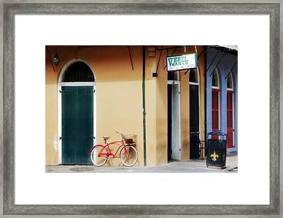 Verti Marte French Quarter Framed Print by Barbara Chichester
