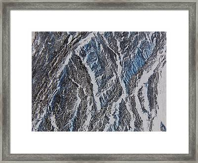 Framed Print featuring the photograph Vertical Climb by Lenore Senior
