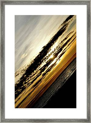Vertical Horizon Framed Print