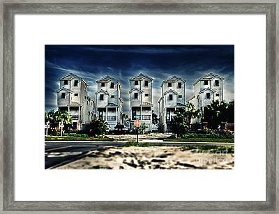 Vertical Life Framed Print by Alessandro Giorgi Art Photography