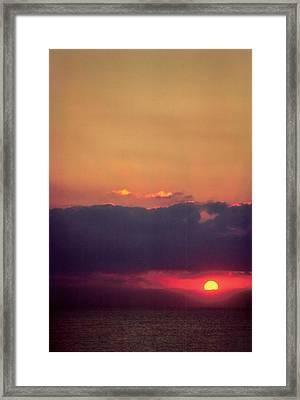 Vertical Number 17 Framed Print by Sandra Gottlieb
