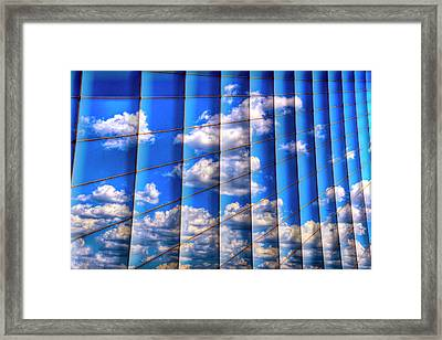 Vertical Sky Framed Print by Paul Wear