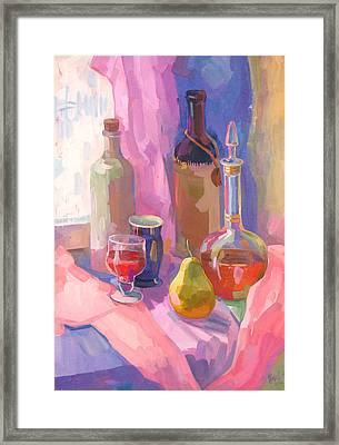 Vertical Still Life Framed Print