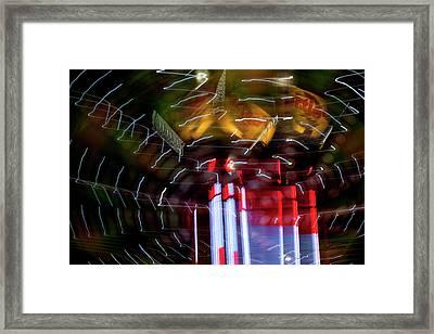 Vertigo Framed Print by Barbara  White