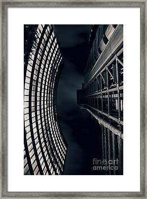 Vertigo I Framed Print by Jasna Buncic
