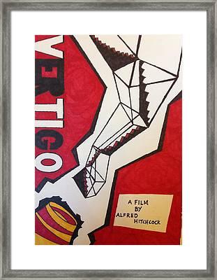 Vertigo Poster Framed Print by Win Homer