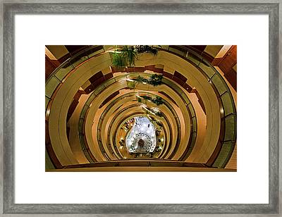 Framed Print featuring the photograph Vertigo by Ron Dubin