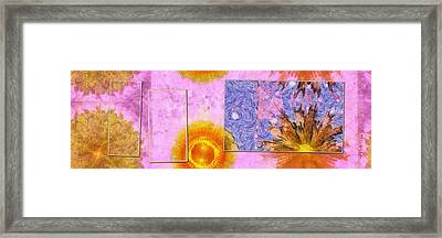 Vertugal Composition Flowers  Id 16164-233339-38771 Framed Print by S Lurk
