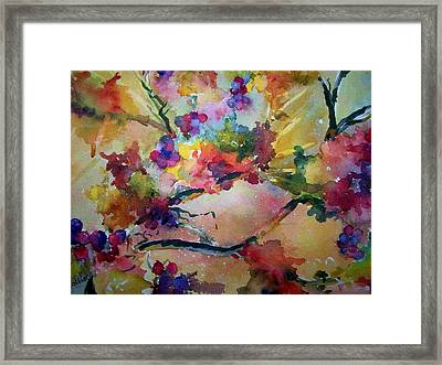 Very Berry Framed Print by Sandy Collier
