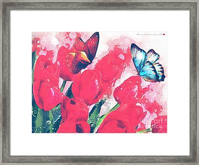 Very Fairy Tale In The Mix Framed Print