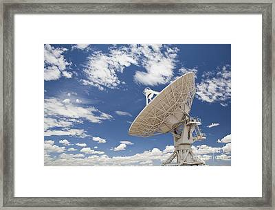 Very Large Array Antenna Framed Print