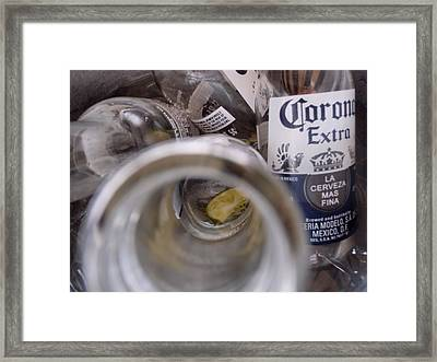 Very Last Drop Framed Print by JAMART Photography