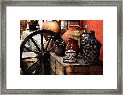 Very Old Things Framed Print by Nina Simeonova