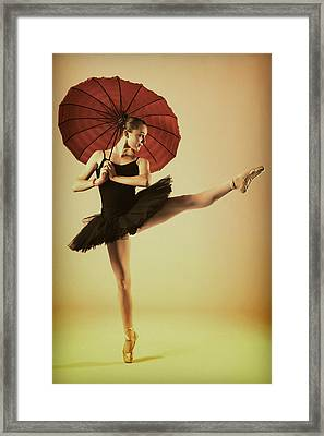 Very Pointey And Warm Framed Print