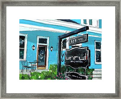 Truly Unruli Framed Print by Tim Ross