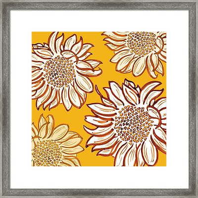 Very Vincent Framed Print by Sarah Hough