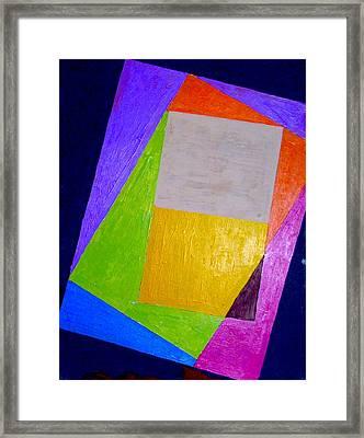 Veryashuns In A Theme One Framed Print by G Cuffia