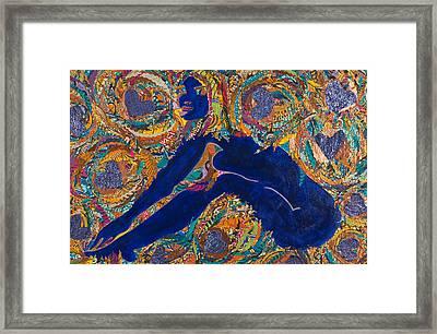 Vesica  Pisces Framed Print