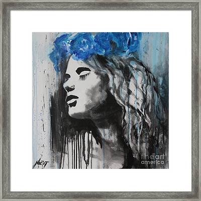Vesna Framed Print by Jindra Noewi