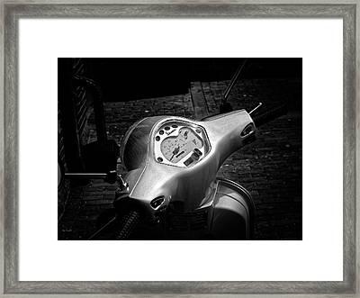 Vespa Framed Print by Bob Orsillo