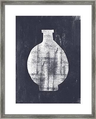Vessel 1- Art By Linda Woods Framed Print by Linda Woods
