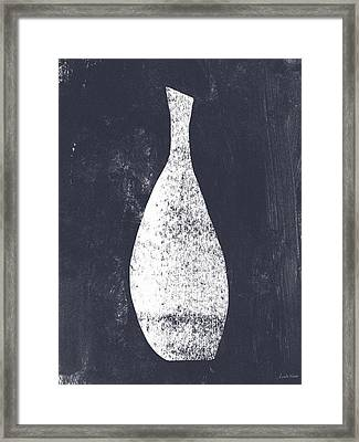 Vessel 3- Art By Linda Woods Framed Print