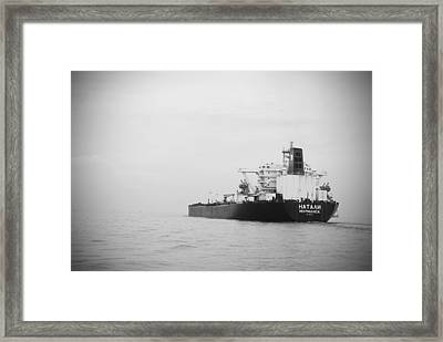 Vessel Framed Print by Susette Lacsina
