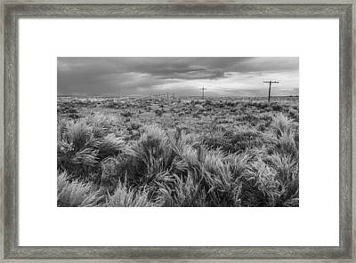Vestige Of Route 66 Framed Print